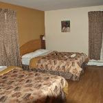 Chmabre avec 2 lits doubles et vue sur le fleuve !