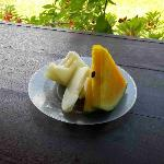 some of the fruit offered