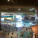 view of waterpark from hotel