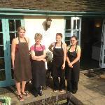 The Pines Garden Tea Room Team
