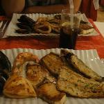Fischplatte bei Chez Luigi