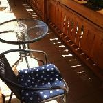 particolare della veranda