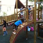 """""""Kids playground behind the B&B, wonderful"""""""