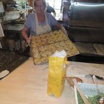 Karelian pies from the oven