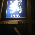 The White Lion Sign