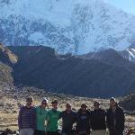 Segundo dia da trilha de Salcantay