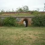 One of the sally ports that lead from residential areas to the interior of the fort.