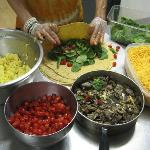 Our WRAPS are made from scratch in our kitchen