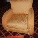 Furniture in Superior Suite with Stuffing Coming out of it