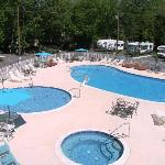 heated pools