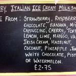 Milkshake Flavours.