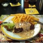 250g Tenderloin with pepper sauce