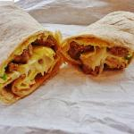 Massive Breakfast burrito