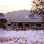 L'osservatorio con la neve