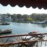 Great day view of Huntington Harbor from our balcony