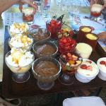 Plateau des desserts