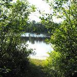 entrée du lac