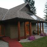 Lodge where yoga studio is located