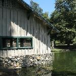 Old boathouse used to rent rowboats