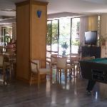 main area near reception