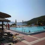 zona piscina sul mare