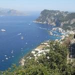 vista di Capri da San Michele