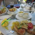 Eine Auswahl an verschiedenen Fisch-Spezialitäten