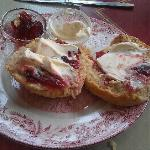 cream tea to die for!