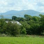 Summer Snowdonia view from Taldrwst