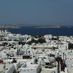 Mykonos from the hotel 2