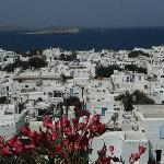 Mykonos from the hotel