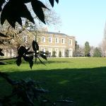A View of Fulham Palace From The Main Lawn