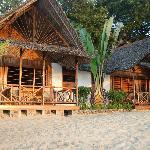 bungalow al tramonto