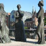 Trzy Gracje sculpture Foto