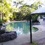 lovely pools,1 is very slightly heated, would probably be better in summer but still lovely.