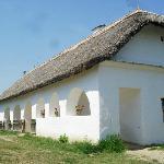 Home inside Hungarian Open Air Museum