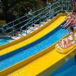 Kiddies pool water slides, Alfagar II complex