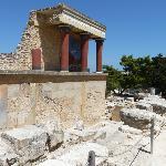 Rovine del palazzo di knossos
