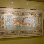Originale dell affresco conservato al museo di Heraklion