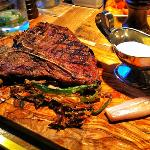 "The ""28 days"" Porterhouse."