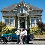 Guests enjoy tours of Victorian Eureka in our 1928 Ford