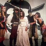One of the dinner theatre events was Pirates of the Caribbean