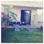 jardin chambre