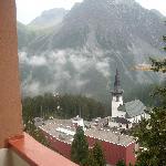 Vue depuis le balcon donnant au sud