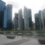 Skyline with The Sails condominium