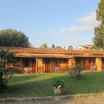 Converted stable block at Villa Margherita