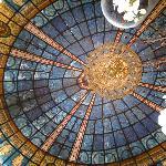 Grand main salon ceiling