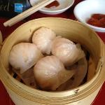 Yummm, Shrimp filled steamed dumplings