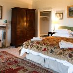 A room in the self catering West Wing holiday let