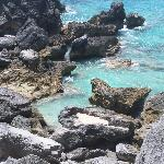 Rocks in Horseshoe Bay Bermuda